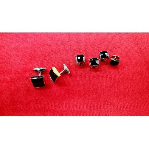 Set butoni cu nasturi bumbi camasa