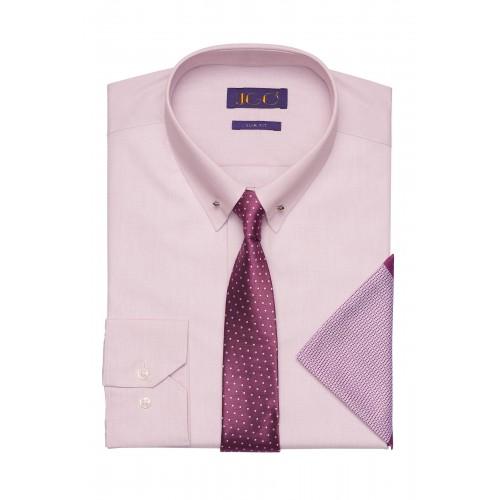 Set Camasa cu Ac Pin + Cravata + Batista