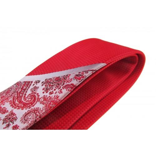 Cravata rosie Sprezzatura