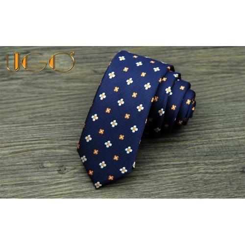 Cravata cu floricele
