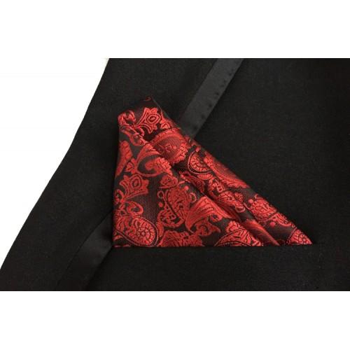 Batista neagra cu flori rosii