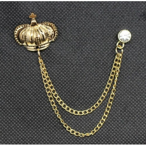 Brosa pin coroana rege