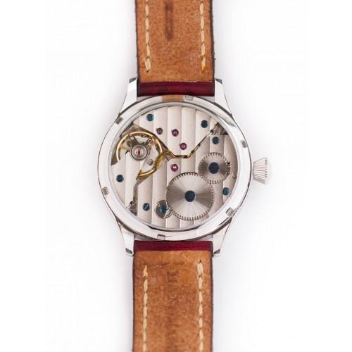 Ceas de mana mecanic, microsculptat si micropictat