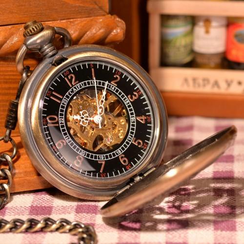 Ceas de buzunar cu lant Phoenix, mecanic