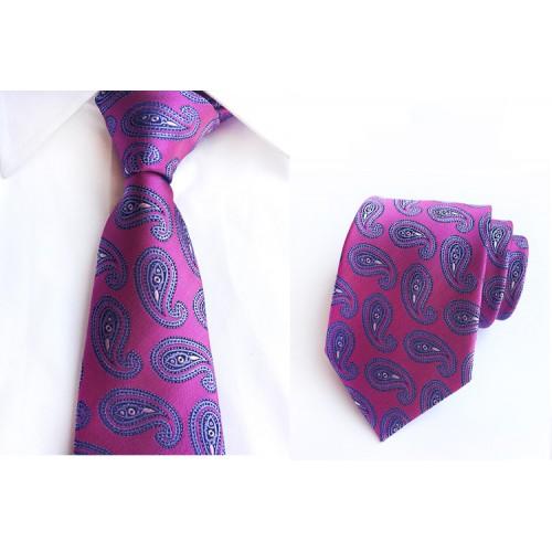 Cravata Paisley din matase